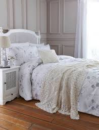 spring grey bed sheets in pastel gray