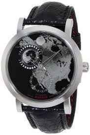 vestal men s ple037 plexi gunmetal oiled dark brown leather movado men s 0606566 red label planisphere w black alligator leather strap watch movado