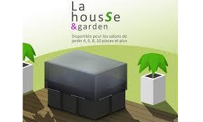Housse de protection pour table de jardin rectangulaire