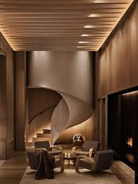 indirect lighting ceiling. nice use of indirect lighting expanding the space ceiling