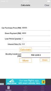 Malaysia Car Loan Calculator On The App Store
