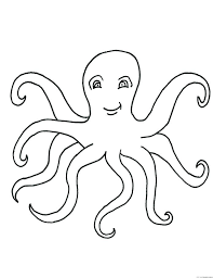 Free Printable Octopus Coloring Pages For Kids On Animal Kingdom