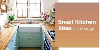 Small Kitchen Design Ideas Budget Cool Inspiration Ideas