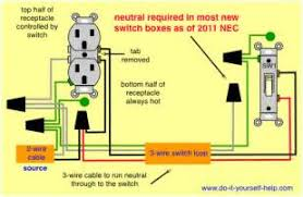 switch wiring diagram images outlet switch wiring diagrams do it yourself help