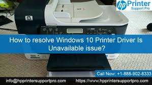 Hp driver every hp printer needs a driver to install in your computer so that the printer can work properly. How To Fix Windows 10 Printer Driver Is Unavailable Issue