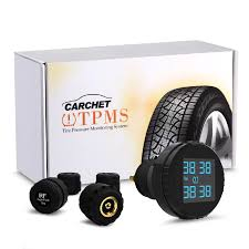 <b>CARCHET TPMS Tire Pressure</b> Monitoring System with 4 External ...