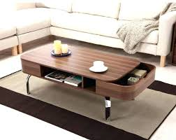 coffee table rounded corners large with storage rectangle edges cor