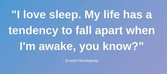 8 Of The Best Sleep Quotes