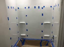 Image Stud How To Install Plastic Tub Kit Diy In Hourcom How To Install Plastic Tub Kit Diy In Hour