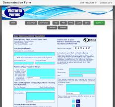 Direct Debit Form Housing Departments – Victoria Forms