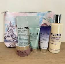 dels about elemis gift set pro collagen cleansing balm marine cream eye mask more