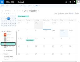calendar office office 365 business premium or enterprise syncing calendars clio