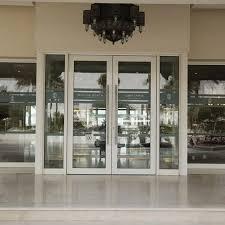 alutec products image of swing door at sealine beach resort qatar