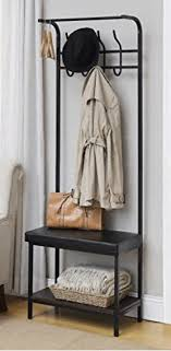 Metal Entryway Bench With Coat Rack Magnificent Entryway Bench Coat Rack A Thrifty Mom Recipes Crafts DIY And More