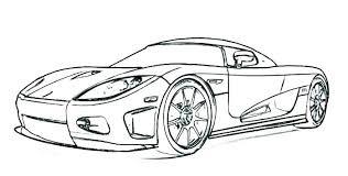 Sports Cars Coloring Pages Pdf Car Printable Haljinezamaturu