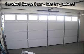 insulated garage door installation cost