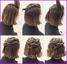Coiffure Sur Cheveux Carrer Invitée A Un Mariage 303048