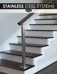 Modern Handrail the sleek design of stainless steel cable rail systems pair well 4803 by guidejewelry.us