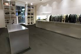 Polished Concrete Floor Kitchen Dark Polished Concrete Floor U Smallhouseideacom