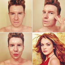 applying makeup meme 1