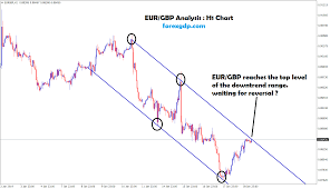 Eur Gbp Reaches The Top Level Of The Downtrend Range In H1