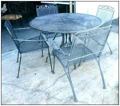 white iron garden furniture. White Patio Table Wrought Iron Outdoor Furniture S . Garden