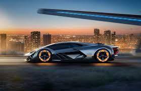 The Lamborghini Terzo Millennio Concept Is A Lightning Strike From The Future Super Sport Cars Dream Cars Concept Cars