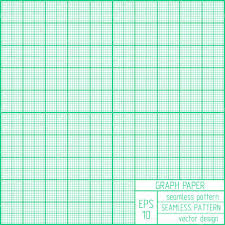 to scale graph paper graph paper seamless pattern real scale stock vector