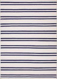 amherst striped wool rug blue cream clearance zoom