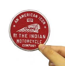 2019 old indian motorcycle american icon 1901 genuine leather patch embroidered patches from jonnaean 15 58 dhgate com