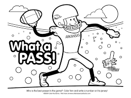Small Picture Football Coloring Page Go Team Coloring Page Football Coloring