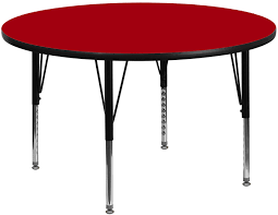 image is loading new 48 inch round school activity table red