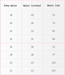 Puma Size Chart Football Shirt Puma Golf Clothing Size Guide Golfposer Emag