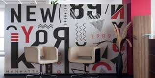 Office wall mural Office Space Making The Right Impression With An Office Wall Mural Sbw Graphics Making The Right Impression With An Office Wall Mural Sbw Graphics