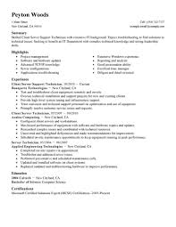 Server Job Description Resume Example Examples Of Resumes
