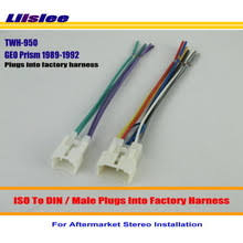 popular aftermarket radio harness kit buy cheap aftermarket radio Aftermarket Stereo Harness liislee car radio harness cable adapter for geo prism 1989 1992 plugs into factory harness stereo installation kits aftermarket stereo harness adapter