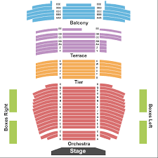 The Carlsen Center Yardley Hall Seating Chart Overland Park