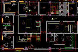 elegant house plans dwg free autocad cool design 15 floor plan file