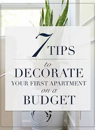Apartment Decor On A Budget Simple Inspiration