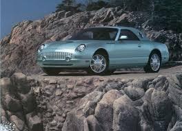 2002-2005 Ford Thunderbird | phscollectorcarworld