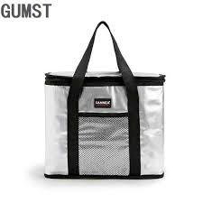 20L cooler bag thermal <b>portable</b> insulated bag big lunch bag ice ...