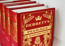 Ranks And Privileges Of The Peerage Debretts