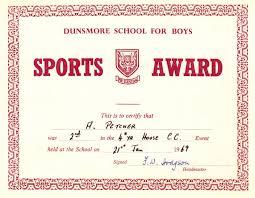 School Certificates Pdf Awardsportscertificateswordpdf 3