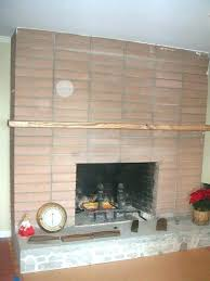 refacing fireplace with stone replace brick fireplace brick fireplace before reface brick fireplace with stone cost