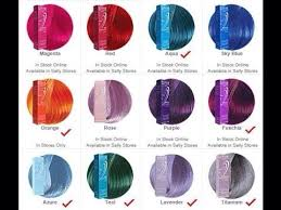 Sally Hair Color Chart Ion Color Brilliance Semi Permanent In 2019 Ion Hair