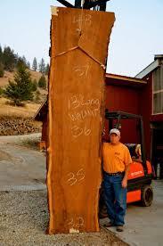 custom wood slab table tops