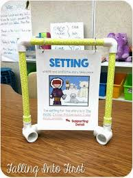 Anchor Chart Stand Mini Anchor Chart Stand Falling Into First