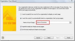 Organization Chart Wizard Excel Build An Organization Chart In Visio 2010
