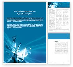 Word Document Template Design Futuristic Word Templates Design Download Now