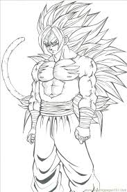Small Picture Goku Coloring Pages exprimartdesigncom